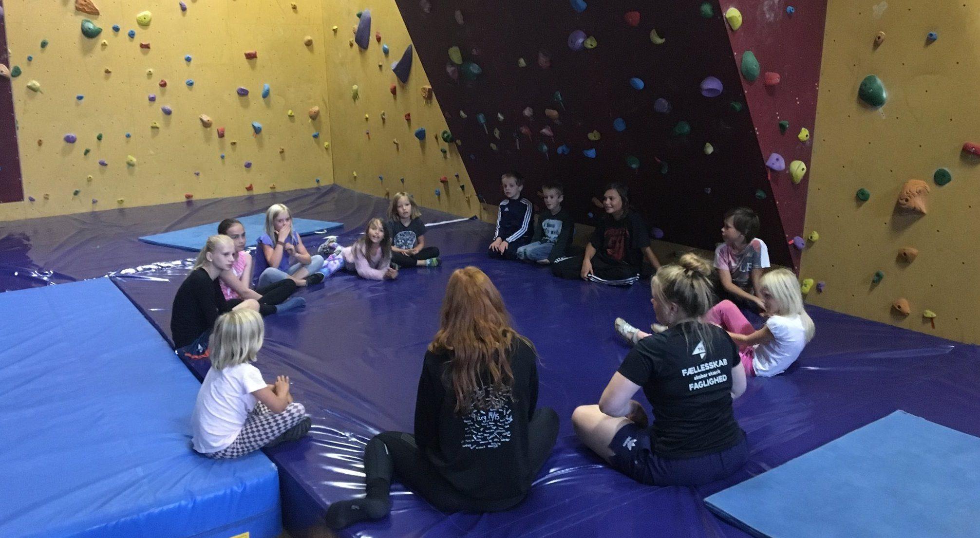 Børneklatring og træning er en kæmpe succes!